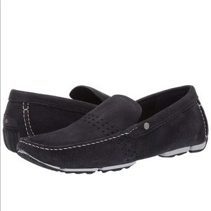 UGG Bel-Air Venetian leather suede loafers